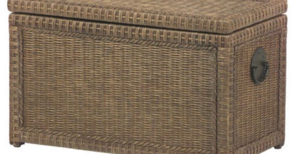 Lindi Trunk 249 95 This Neutral Rattan Version From Pier 1 Is
