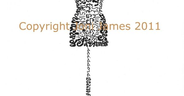 Fashion Mannequins Dress Form Mannequin Word Art