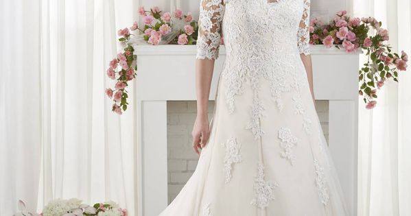 Wedding Gown Designs For Chubby: The Best Wedding Dresses For Fat Arms!