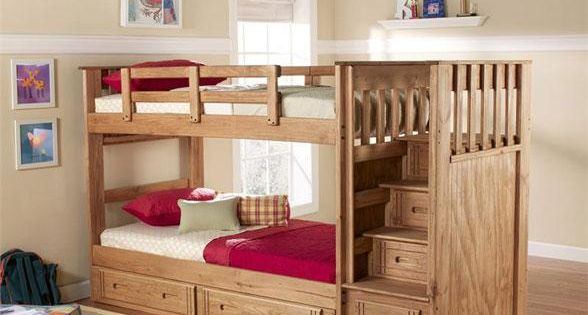 Building Plans For Bunk Beds With Stairs Free Bunk Bed