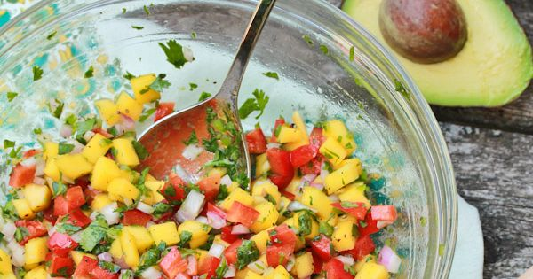 Hawaiian-Style Hot Dogs With Mango Salsa And Pineapple Mustard Recipe ...