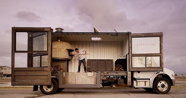 What a beauty. Wouldn't mind having a Cantina truck this big! ...