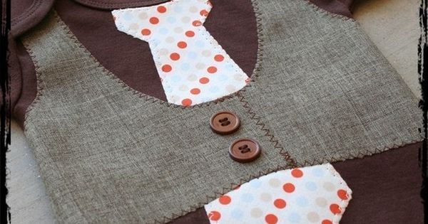 Sewing project for little boys.