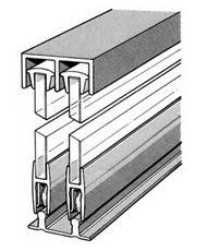 Glass Door Track Assembly Sliding Cabinet Door Hardware Sliding Barn Door Hardware Sliding Cabinet Doors