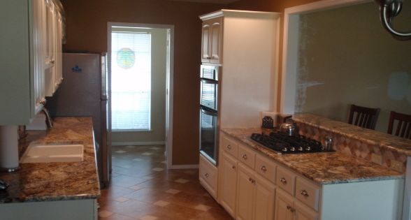 Galley Kitchen Remodel Finally Done Galley Kitchen Remodel On A Budget Of 15 000 We Did