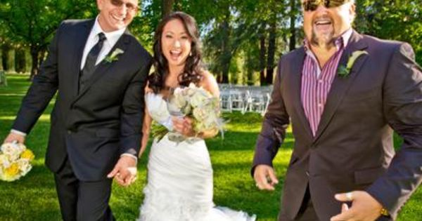Chef Robert Irvine With Wife Gail Kim And Guy Fieri
