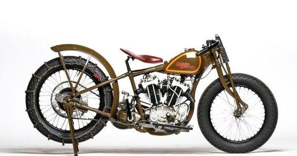 Oldmotodude 1928 Harley Davidson Peashooter Hill Climber: 1930 Harley Davidson Factory Hillclimber