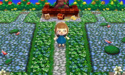 とび森 庭園