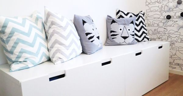 stuva ikea idea for toy storage have one already add cushions to soften design. Black Bedroom Furniture Sets. Home Design Ideas