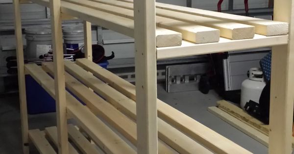 Great Plan for Garage Shelf!  Do It Yourself Home Projects from Ana White  Things to ...