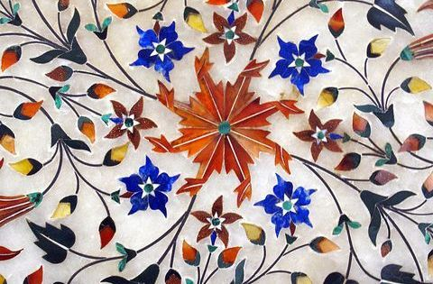 Inlay Art Work Kompliziert Und Interessant Islamische Kunst Porzellanmalerei Mosaik