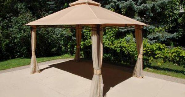 13 X 10 Roof Style Gazebo At Menards Gazebo Roof Styles Patio
