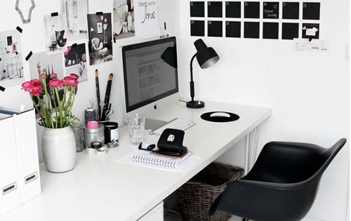 Des Id Es Pour Am Nager Un Bureau Dans Un Petit Espace Commencer Un Blog Bureaux Et Calendrier