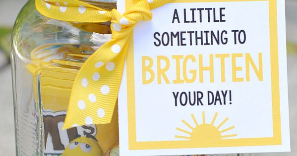Brighten Your Day Gift Idea Hard Times Small Things And