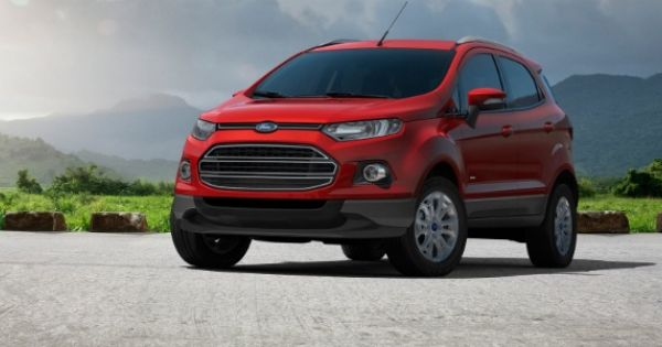 Stronger Crash Structure For Europe Bound Ford Ecosport Ford