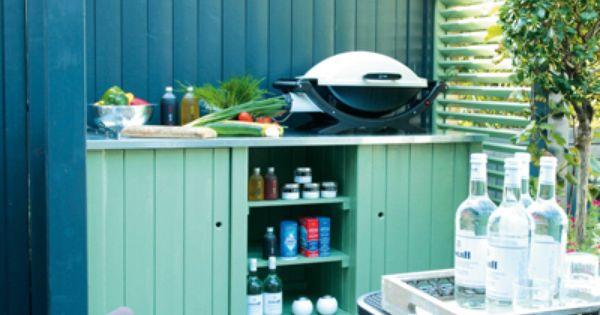 Was het maar altijd zomer buiten en kleur pinterest google buitenkeukens en zomer - Opslag idee lounge ...