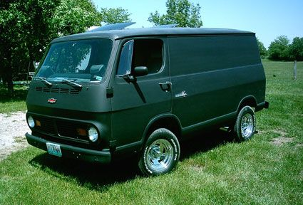 1967 Chevy Van I want this. like i wanted one when i was 16