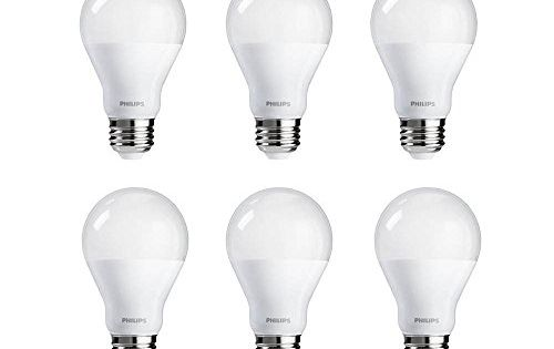 Philips Led A19 Warm Glow Dimmable 800 Lumen 2700 2200 K Led Light Bulb Light Bulb Dimmable Led Lights