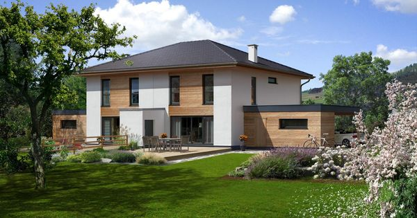 doppelhaus 140 w traumh user katalog pinterest house exterior and haus. Black Bedroom Furniture Sets. Home Design Ideas