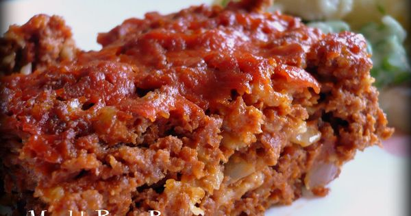 Old Fashioned Meatloaf Made With Crackers