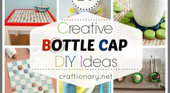 20 creative bottle cap ideas recycle crafts bottle cap for Creative ideas with bottle caps