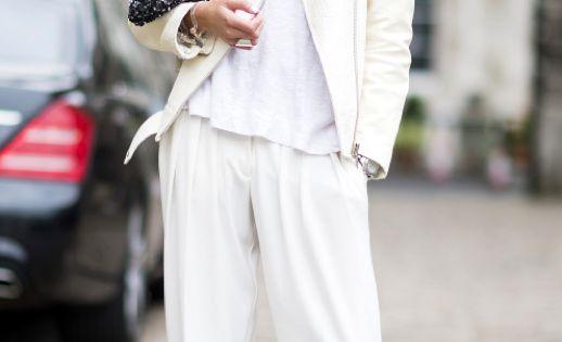 White on White - all white chic