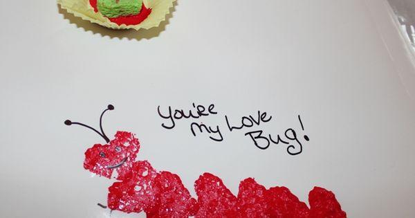 Love Bug Valentine Stamp