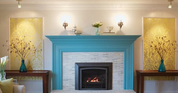 Living Room Paint Color Ideas With Fireplace