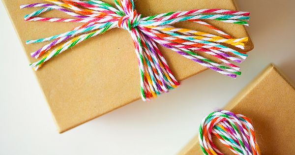 A rainbow of color - bakers twine from The Twinery twinery rainbow