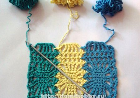 Crochet diagram, Crochet scarf tutorial and Stitches on Pinterest