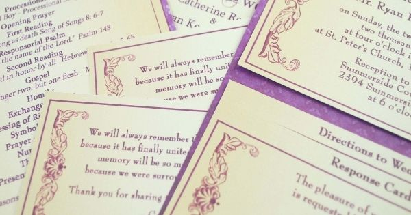 nice 10 best place to order wedding invitations online | Wedding ...