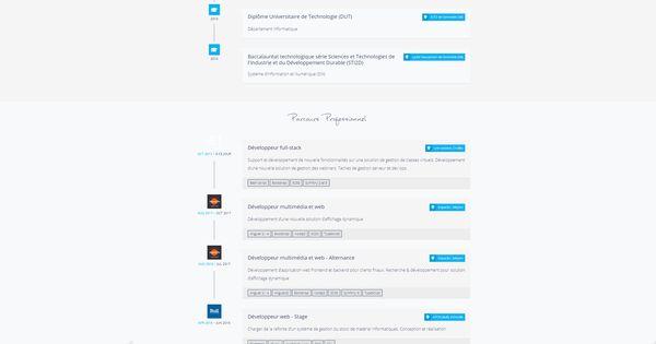 Personal Website Le Web Le Site Grenoblois