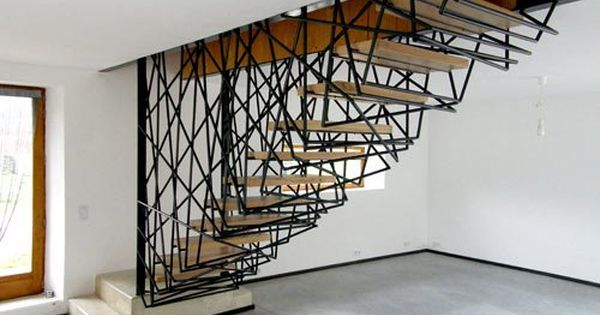 Architectural Patterned Stairway Design