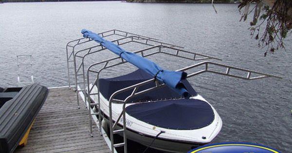 Davlin Boat Awnings Boat Dock Boat Boat Covers