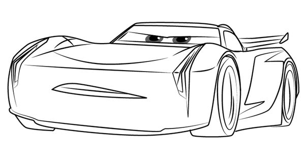 How To Draw Jackson Storm From Cars 3 Drawingtutorials101 Com Storm Jackson Step By Step Drawing