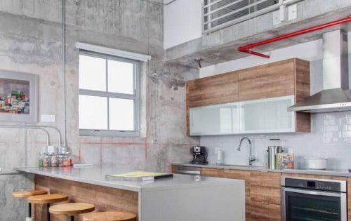 kitchenspace This inspiring industrial loft