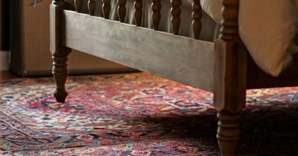 Antique Jenny Lind spool bed frame