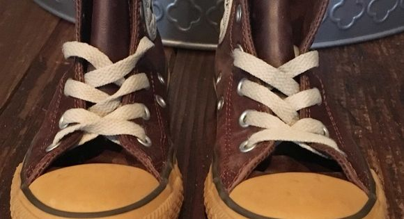 Unique Leather All Star Converse High Tops Unique Limited
