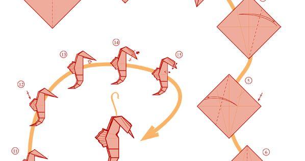 origami seahorse paper seahorse after all cosas por