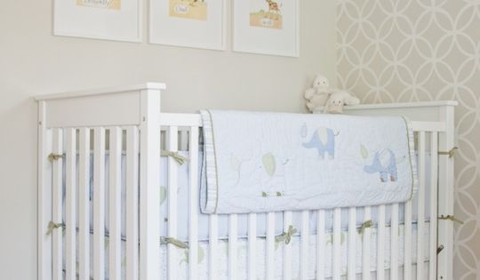 7 Inspiring Kid Room Color Options For Your Little Ones: Cooper's Soothing Neutral Nursery
