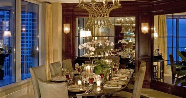 Naples Luxurious Dining Godfrey Design Inc Home Decor