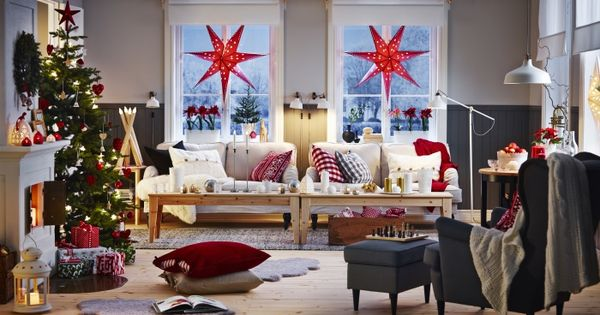 Str la hanglamp ikea kerst kerstster decoratie versiering woonkamer christmas - Decoratie kamer thuis woonkamer ...