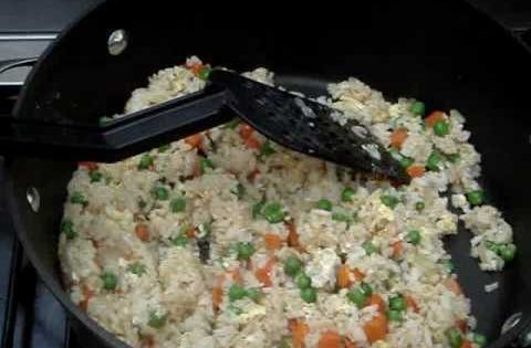 how to make easy fried rice video