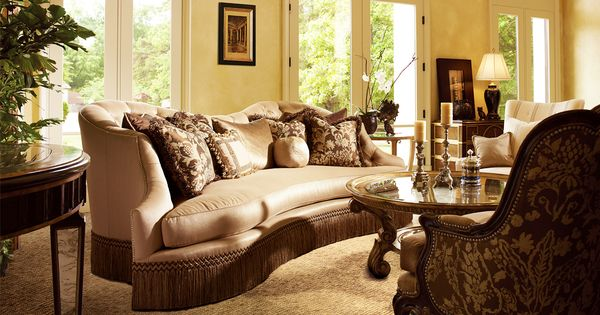 Marge carson living room marc pridmore designs orange for Bedroom furniture orange county