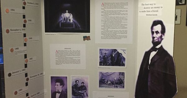 Abraham Lincoln Wax Museum School Project Escuela