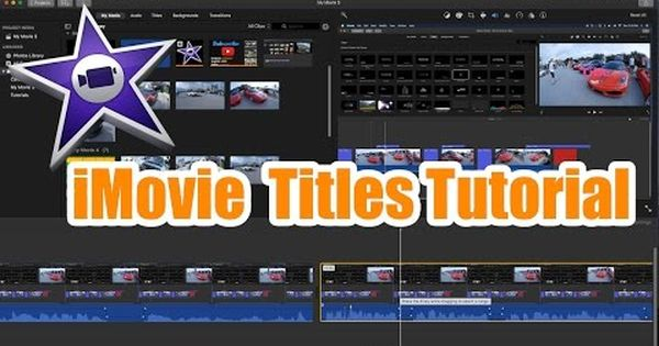 Imovie Tutorial Titles And Subtitles Tutorial Youtube Tutorial Subtitled Title