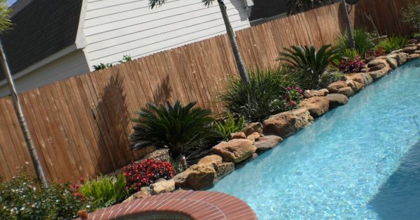 Landscaping ideas around pool landscaping around pool for Landscaping rocks broward county