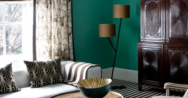 Ming Jade By Benjamin Moore For Emerald Decor Dining