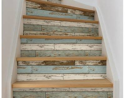 Room Mates Peel And Stick 20 5 X 16 5 Stone Wallpaper Roll Reviews Wayfair Staircase Decor Painted Stairs Wood Wallpaper