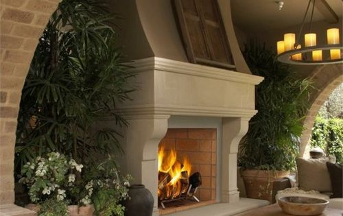 outdoor fireplace outdoor -spaces